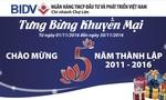 BIDV Chợ Lớn tưng bừng khuyến mại chào mừng 5 năm thành lập