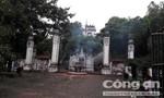 Hòm công đức ở Đền Cuông bị trộm 'viếng thăm'