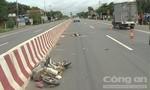 Ô tô tông xe đạp điện, 2 người thương vong