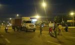 Người đàn ông bị xe container cán chết trong đêm