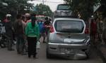 Tai nạn liên hoàn giữa 6 ô tô khiến giao thông ùn tắc
