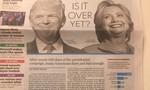 Lợi thế vớt phiếu của Trump khi dẫn điểm trước bà Clinton