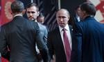 Obama gặp Putin chóng vánh bên lề hội nghị APEC
