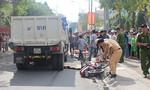 Người đàn ông chạy xe ôm bị xe ben tông chết