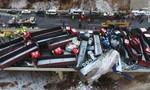 56 xe tông nhau liên hoàn tại Trung Quốc khiến 17 người chết