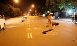 Ba xe máy tông liên hoàn trong đêm, 4 người nguy kịch
