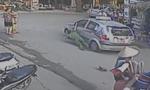 Clip: Tài xế taxi kéo lê thiếu tá công an trên đường