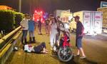 Tai nạn liên hoàn trên cao tốc do xe máy chạy ngược chiều