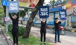 Chen lấn mua hàng hiệu giảm giá 'khủng' ở Sài Gòn ngày Black Friday