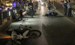 4 xe máy tông liên hoàn ở Sài Gòn, 2 người nguy kịch