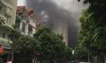 Cháy lớn ở khu đô thị Xala, người dân hoảng loạn