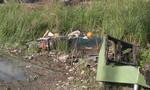Người đàn ông chết trong tư thế ôm xe máy không biển số