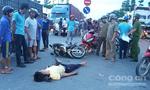 Hai nam thanh niên đi xe máy tông chết người đàn ông