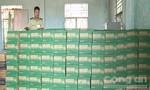 Bắt xe tải chở 600 thùng nước ngọt lậu