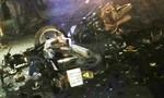 5 cô gái trên 1 chiếc mô tô gặp tai nạn, thiếu nữ tử vong