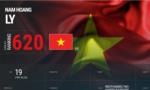 Hoàng Nam tiếp tục lập kỷ lục trên BXH ATP