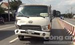Đi ngược chiều trong làn ô tô, nam thanh niên bị xe tải tông chết