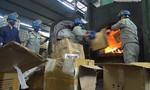 TP.HCM: Tiêu hủy hơn 10 tấn hàng giả, hàng kém chất lượng