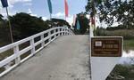 Báo CATP và Văn phòng B.A.T khánh thành cầu Vườn Tre