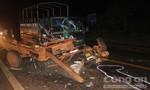 Xe tải tông xe công nông, 3 người trọng thương