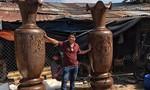 Người sở hữu nhiều tượng gỗ độc đáo