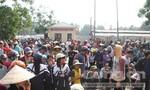 Người dân bao vây UBND xã vì mâu thuẫn trong xét đền bù vụ Formosa