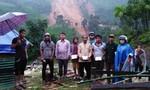 Sạt lở núi, 4 ngôi nhà dân bị sập