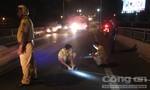 Giao thông ùn ứ trên cầu Rạch Miễu vì tai nạn