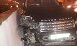 4 ô tô tông liên hoàn trên đường cao tốc, khiến 3 người bị thương