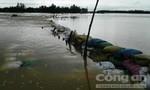 Sạt lở 40m tuyến đường nối thôn Đông Bình - Hà Mỹ
