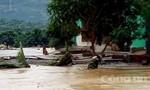 Đập chứa nước Kala xả lũ gây thiệt hại nặng nề