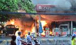 35 xe máy bị cháy trong vụ cây xăng bốc cháy ở Sài Gòn