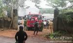 Cháy nhà máy chế biến mủ cao su, ước thiệt hại hơn 8 tỷ đồng