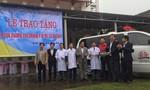 Trao 2 xe cứu thương tại Quảng Bình, Quảng Trị