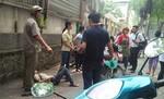 Nam thanh niên đâm gục bạn gái giữa trung tâm Sài Gòn rồi vung dao tự sát