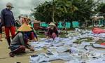 Bình Định: Bà con đem giấy tờ, sách vở ra UBND xã phơi khô