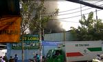 Cháy công ty mút xốp ven Sài Gòn