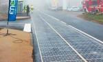 Con đường năng lượng mặt trời được khánh thành tại Pháp