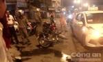 Xe gắn máy chạy ngược chiều tông vào taxi, khiến 3 người thương vong