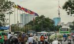 TP.HCM: Treo cờ rủ quốc tang tưởng nhớ lãnh tụ Cuba