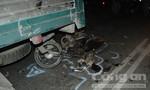 Tông vào xe tải chờ đèn đỏ người đàn ông tử vong tại chỗ