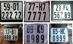 Đề xuất đấu giá biến số xe, tăng ngân sách cho TP.HCM