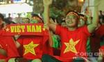 TP.HCM: Cổ động viên hò reo hết mình cho đội tuyển Việt Nam