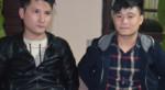 """Hai thanh niên chở dao và súng trên """"xế hộp"""" chơi đêm"""