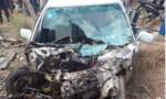 Tàu hỏa tông ô tô 4 chỗ khiến lái xe bị thương nặng