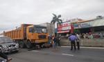 Xe tải tông xe máy, một phụ nữ tử vong tại chỗ