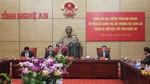 Bộ trưởng Trần Đại Quang thăm và làm việc tại Nghệ An