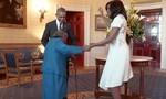 Cụ bà 106 tuổi dạy Obama nhảy tại Nhà Trắng