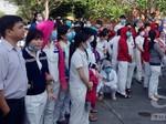 Hàng ngàn công nhân Củ Chi đình công phản đối chế độ tiền lương