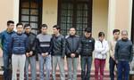 Đang say sưa sát phạt, 10 con bạc bị bắt tại trận